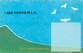Halloed Ground Hawks Poster